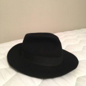 a83498102e1c6 borsalino Accessories - Vintage black borsalino fedora